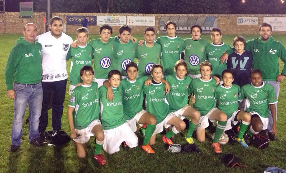 Sub-14 jogam em Coimbra