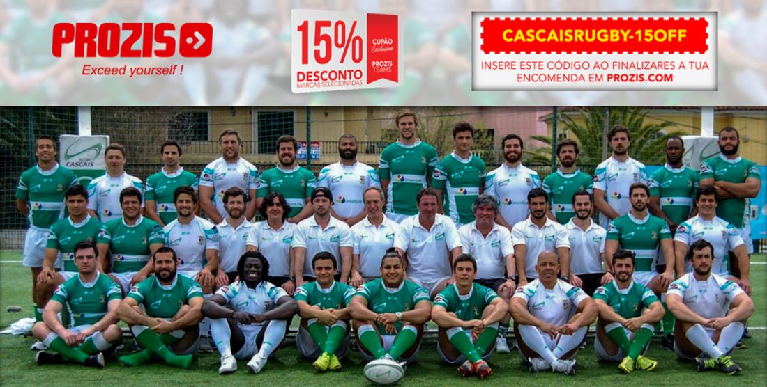 Prozis junta-se à família Cascais Rugby