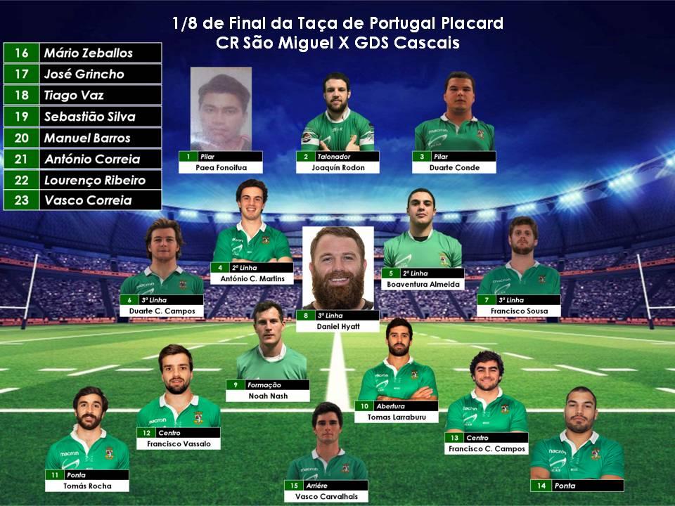 Cascais vence São Miguel no jogo dos 1/8 Final da Taça de Portugal